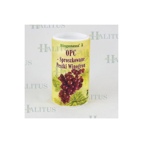 OPC sproszkowane pestki winogron 250g